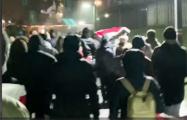 Малиновка и Юго-Запад встретились с Грушевкой на вечернем шествии