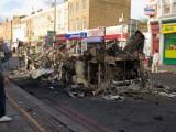 После беспорядков в Лондоне арестованы 42 человека