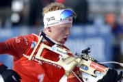 Йоханнес Бо выиграл спринт на этапе Кубка мира по биатлону