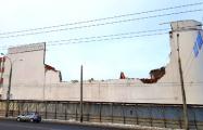 На Аранской сноcят часть здания «Белмедпрепаратов»