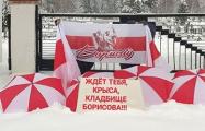 Борисовчане намекнули узурпатору, что ждут его только в одном месте