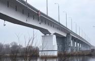 Мост через Припять может рухнуть в любой момент