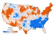 Британский ученый составил нецензурные карты США