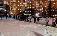 Малиновка вышла на вечерний марш
