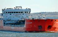 На нефтяном танкере в Азовском море произошел взрыв