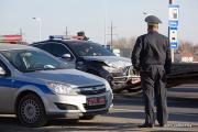 На МКАД разбили BMW-5 series GT спецподразделения «Стрела»