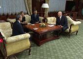 Лукашенко и Дворкович обсудили развитие шахматного спорта в Беларуси
