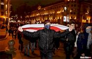 Минский школьник: Мы хотим свободы, хотим будущего