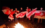 Ночь Гая Фокса оригинально празднуют по всей Беларуси