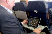 В Европе разрешат использование электроники при взлете и посадке самолета