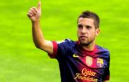 Защитник «Барселоны» Жорди Альба продлил контракт с отступными €500 млн