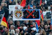 На антиисламском митинге в Дрездене избили журналиста Russia Today