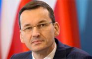 Матеуш Моравецкий: Варшава будет послом независимой Беларуси