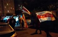 Жители Малиновки вышли на вечерний марш