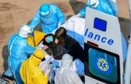 Лицо пандемии: итальянский фотограф показал ошеломляющий снимок