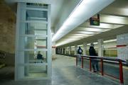 На станции метро «Первомайская» монтируют лифты
