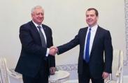 Мясникович  и Медведев обсудили нефтяные вопросы