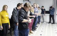 Правозащитники провели необычную игру о жизни в Беларуси