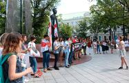 Белорусская диаспора активно поддерживает протесты в нашей стране