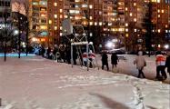 «Лукашенко в автозак!»: Марш проходит в Советском районе