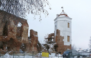 Как бульдозеры «благоустроли» Гольшанский замок