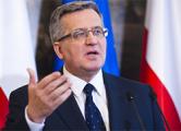 Коморовский: Запад должен давить на РФ с помощью единой позиции и экономики