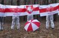 Жители Жабинки в белых одеждах вышли на акцию протеста