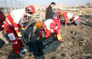 Место падения украинского самолета в Иране сняли с вертолета