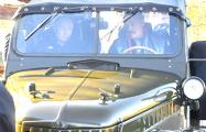 Лукашенко возил Путина по пустым улицам Александрии на автомобиле ГАЗ-69