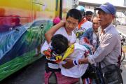 В результате обстрела демонстрантов в Бангкоке погиб человек