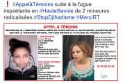 Во Франции две школьницы сбежали из лицея для участия в джихаде