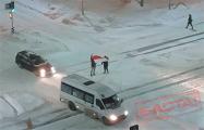 В Гродно протестующие проверили реакцию водителей на перемены