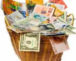 Доллар, евро и российский рубль подорожали