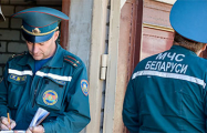 В Лынтупах во время тушения пожара погиб сотрудник МЧС
