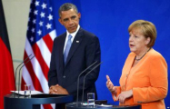 Обама озвучил совместную с Меркель позицию по санкциям против России