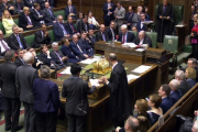 Палата общин британского парламента отвергла поправки к биллю о Brexit