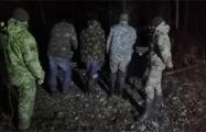 Украинцы на телегах пытались ввезти в Беларусь 800 кг сала