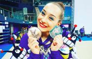Белорусская гимнастка завоевала две медали на этапе Кубка мира в Италии