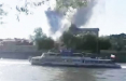 В Москве горит склад пиротехники возле стадиона «Лужники»: видео