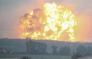 МВД Украины показало Калиновку после взрывов на складах боеприпасов