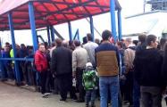 На футбольном матче в Молодечно милиция устроила повальные обыски