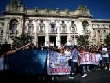 В Италии студенческие протесты закончились столкновениями с полицией
