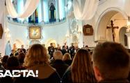 В Красном костеле хор исполнил «Погоню»