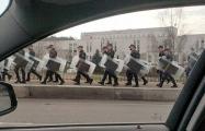 МВД назвало аномальную активность силовиков в столице «учениями»