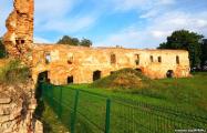 Вяртаньне «Каменнай кветкі»: Як аднаўляюць вежу Гальшанскага замка