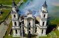 Фотофакт: Работа над восстановлением костела в Будславе продолжается