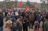 Жители Улан-Удэ вышли на массовый митинг против беспредела