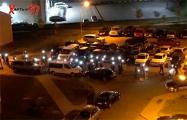 Жители Сухарево устроили традиционное вечерние шествие