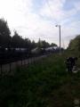 В Витебской области с рельсов сошли 16 цистерн с пропаном