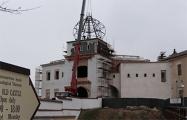 В Гродно показали, какой купол будет над въездной башней Старого замка